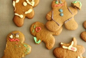 Maimed Gingerbread Cookies
