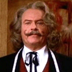Harvey Korman as Professor Balls from The Pink Panther series