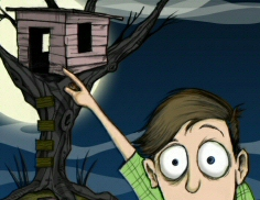 Zombie in My Treehouse - Small