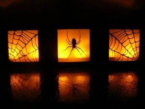 Halloween Table Luminaries