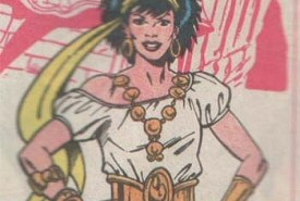 Gypsy from Justice League