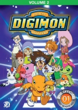 Digimon Adventure (Season 1), Vol. 2 DVD