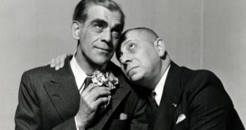 Boris Karloff and Erich Von Stroheim in Arsenic and Old Lace