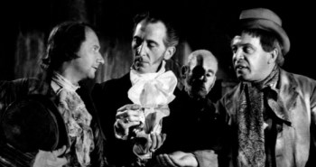 Flesh and the Fiends, with Donald Pleasance, Peter Cushing and George Rose