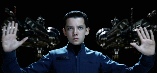 Asa Butterfield as Ender Wiggin in Enders Game