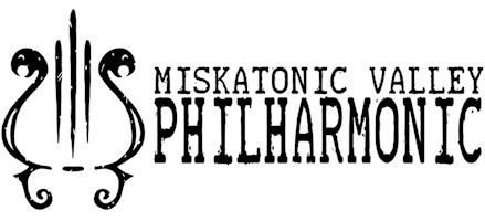 Miskatonic Valley Philharmonic logo