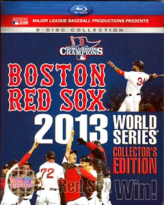 Boston Red Sox 2013 World Series Collectors Edition Blu-Ray