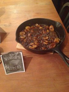 The World's End: Bananas Foster, completed