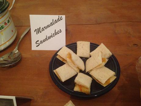 The Marmalade Sandwich! (Nice.)