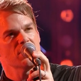 Michael C. Hall singing Bowie's Lazarus at the Mercury Prize 2016
