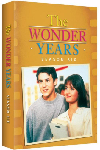 Wonder Years Season 6 on DVD