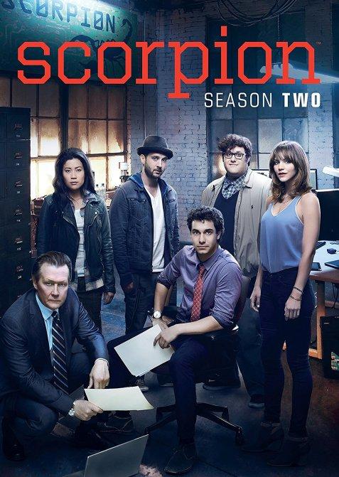 Scorpion Season 2 DVD