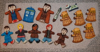 Doctor Who gingerbread by Metallicar-67