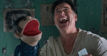 Ash vs. Evil Dead Bruce Campbell and friend