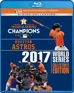 2017 World Series Collectors Edition Houston Astros Blu-ray