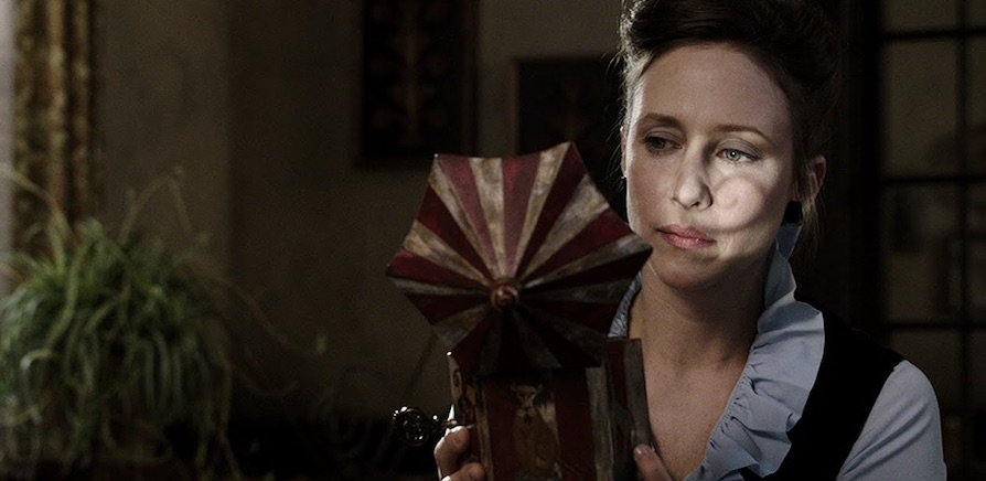 Vera Farmiga as Lorraine Warren in The Conjuring