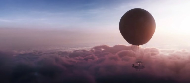 Lee Scoresbys balloon from His Dark Materials