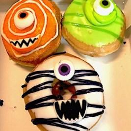 Krispy Kreme Monster Halloween Donuts