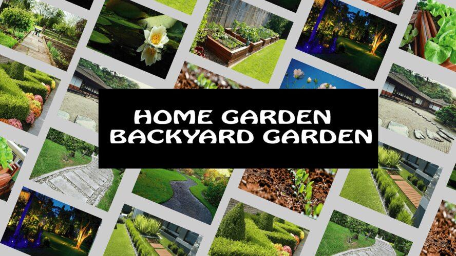 Home Garden Ideas, home garden, gardening, yard garden, yard garden