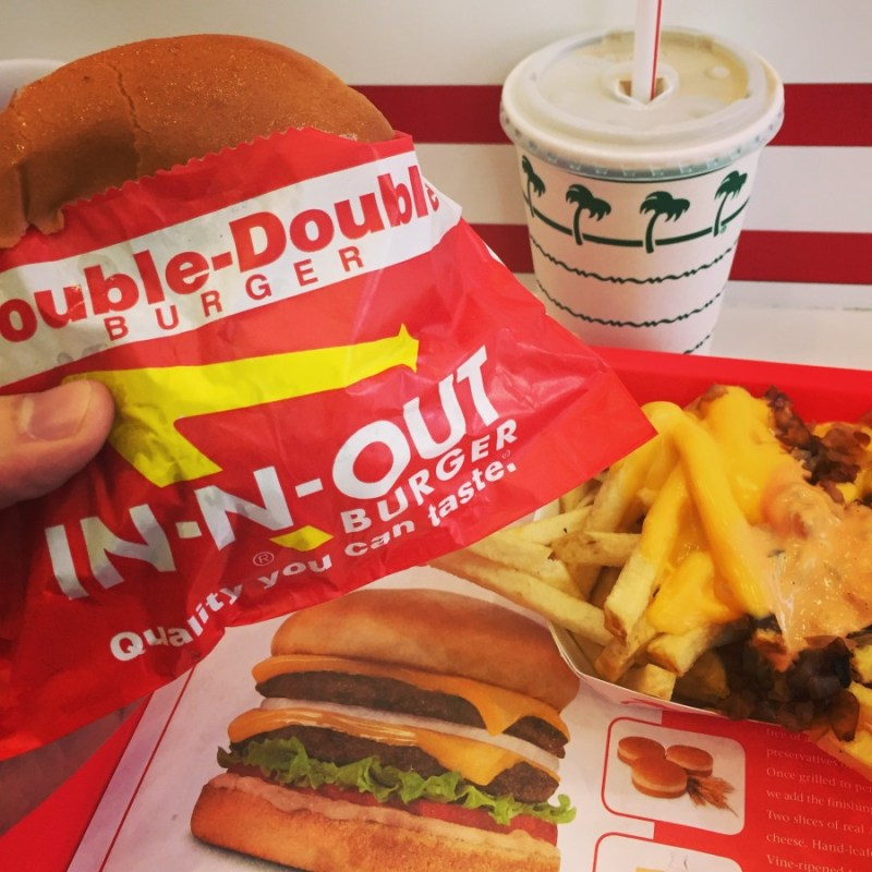 In-N-Out - A California Must for any Meat Eater