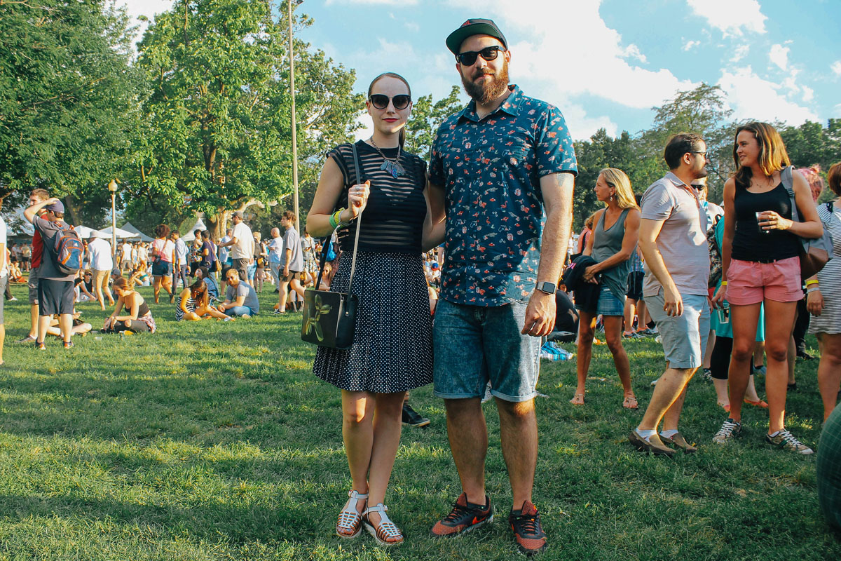 Our Friends from Sidewalk Hustle | Pitchfork Music Festival 2015
