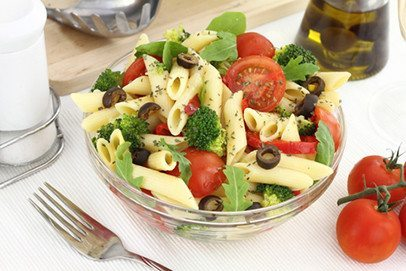 Image from Food Safety News- Vegetarian Pasta Salad