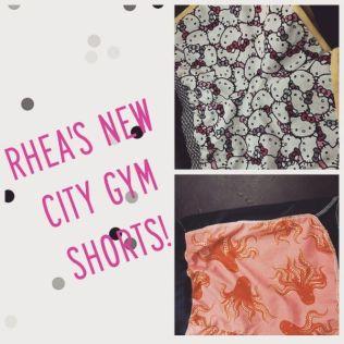 Purl Soho Gym City Shorts for Rhea