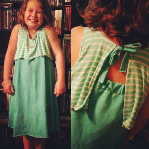 Springtail Dress Pattern Testing for Imagine Gnats