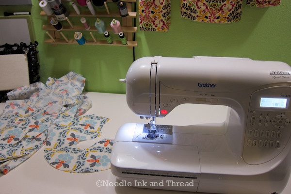 Using my Brother Sewing Machine, PC-420