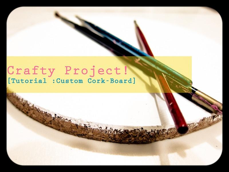 DIY Customized Corkboard