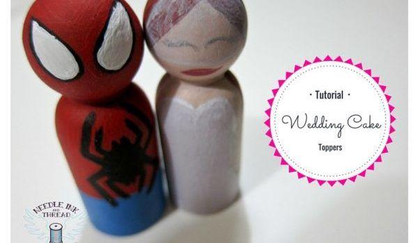 Wedding Cake Topper – Tutorial