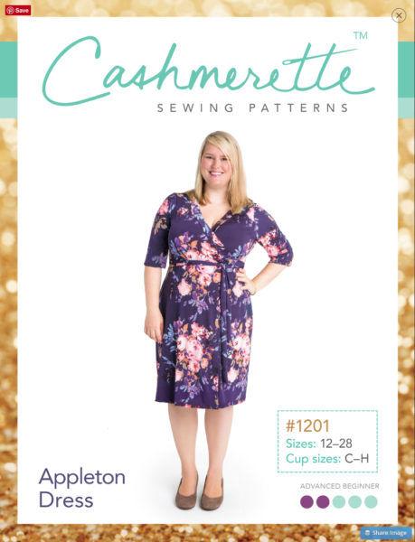 Cashmerette - Appleton Dress   Curvy Sewing Patterns