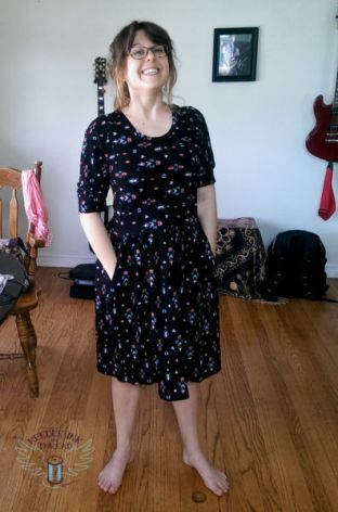 Sew Caroline - Out and About Dress- Sewing Garments