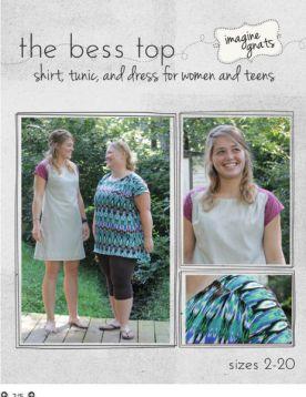 imagine gnats: bess top - imagine gnats - Sewing Garments