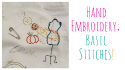 Hand Embroidery Basic Stitches
