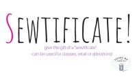 sewtificate