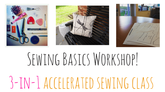 sewing basics workshop
