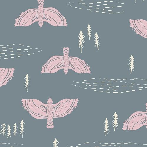 Wind Observer Fog - Art Gallery Fabric - Rayon