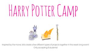 Harry Potter camp