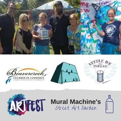 artfest sponsor needle ink and thread