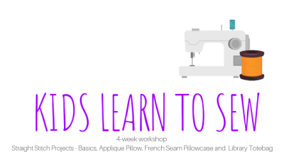 kidssewing Adult – Learn to Sew Four Week Workshop - Session 2