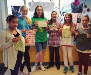 Homeschool Group made an unlined zipper pouch
