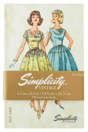 Simplicity Vintage Hardcover Notebook