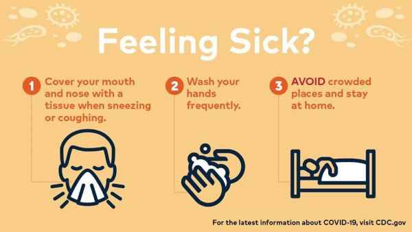 Feeling sick?3 steps to take.