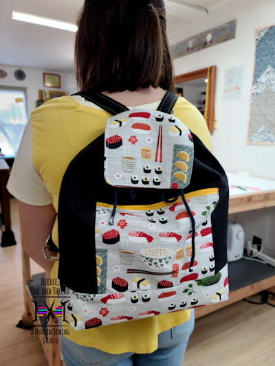 We started this awesome backpack before the pandemic!