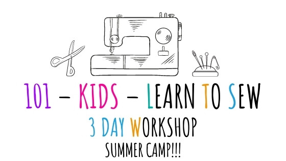 Sewing Camps 2021 - Needle Ink and thread