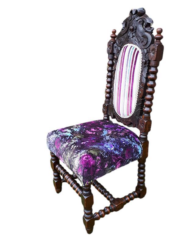 Jacobean Revival Chair | Functional Art