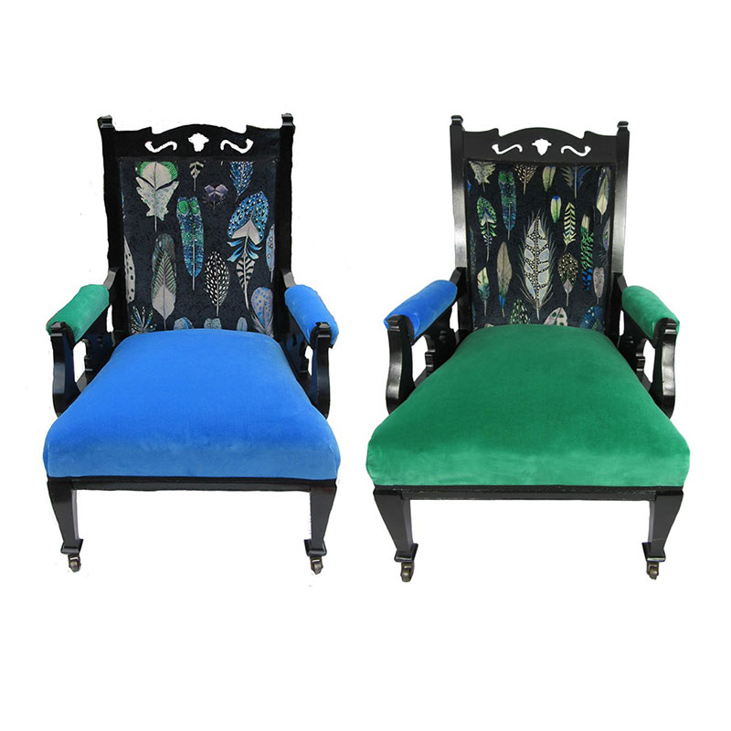 Ladies and Gentleman Chairs
