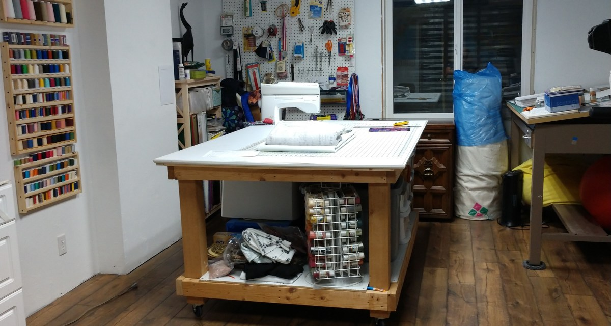 Sewing Room Remodel