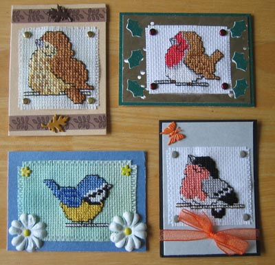 Cross Stitch Card Making Ideas